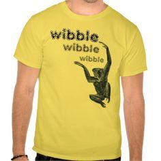 wibble wibble wibble T shirt