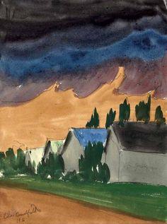 The Storm,-1916, Charles Burchfield