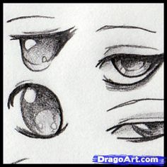 how to ~ Draw Anime Eyes