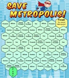 Place Value Games - Your students will have a blast with place value with these… Superhero Classroom Theme, Math Classroom, Superhero Room, Math Stations, Math Centers, Teaching Math, Teaching Tools, Teaching Ideas, Place Value Games