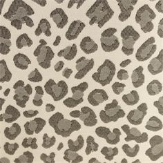 This Is A Black Grey And Natural Woven Animal Design Indoor Outdoor Fabric By