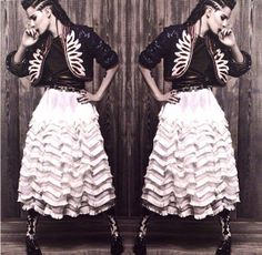 Chanel's Native American-inspired Pre-fall Collection----Kristen Stewart