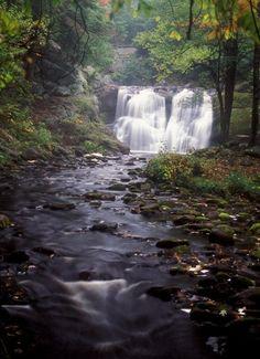 Doane's Falls, near Royalston, Mass., are breathtaking in any season. (©J. Burk)