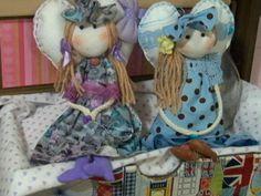 Lindas bonecas de pano