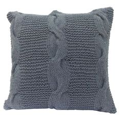 Caroline Pillow in Gray - With Aged Appeal on Joss & Main