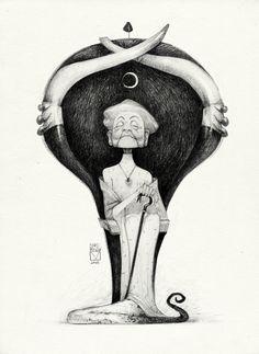 Просмотреть иллюстрацию Sketchtober | 016 из сообщества русскоязычных художников автора Blad Moran в стилях: 2D, Анимационный, Концептуальный, нарисованная техниками: Карандаш.