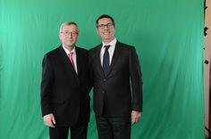 Con il nuovo presidente della Commissione europea, Jean-Claude Juncker