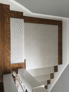 Runner Hardwood Floors, Flooring, Basement Stairs, Stair Runners, Carpet Runner, My Dream Home, Tile, Dining Room, Paint