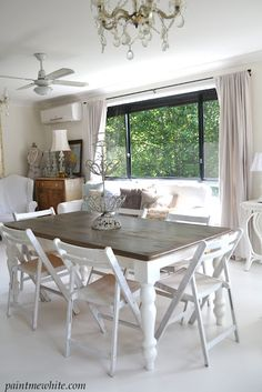 What I want to do with our old kitchen table