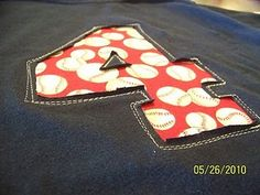 reverse applique tute  i love how the sewing around it is meant to look messy...perfect for me! Do this on a black sweatshirt in the shape of the Army A in gold, patterned fabric. Wear to the next tailgate!