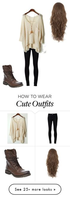 """Cute Outfit"" by steph2468 on Polyvore featuring Ström and Steve Madden"