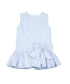 Mas modelos Frocks For Girls, Kids Frocks, Little Dresses, Little Girl Dresses, Cute Dresses, Cute Baby Clothes, Doll Clothes, Little Girl Fashion, Kids Fashion