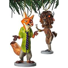 """#Christmas More Info Disney Zootopia """"Nick Wilder & Yak"""" 2 pc Ornament Set for Christmas Gifts Idea Deal . Picking out  Christmas Toys for young children might appear easy, while selected carefully, Christmas Toys can offer the possibility for the baby to understand anything, however will also be a signifi..."""