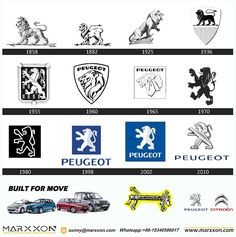Peugeot 405, Citroen Zx, Evolution, Automobile, Like4like, History, Logos, Templates, Branding