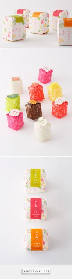 Furumachi-Kouji 2013 Pongashi・Koujiame by AWATSUJI design curated by Packaging Diva PD. The cutest little packaging.
