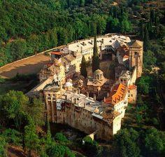 Holy Monastery of Hilandariou Mount Athos.