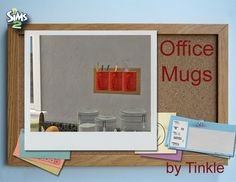 SIMS2: Office Mugs - Downloads - BPS Community