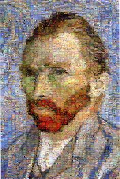 Robert Silvers - I chose this picture because I like how he used many pictures to make a mosaic