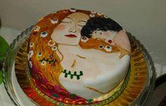 Feria de reposteria de málaga - ¡Guau! Gustav Klimt :) #cake #awesome