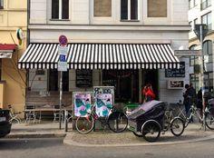 Mädchenitaliener - Individuelles kleines italienisches Restaurant, das Pasta mit Feigen und wechselnde Mittagsmenüs serviert.