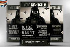 Urban Club Flyer Template @creativework247