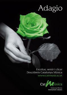 Campaña de lanzamiento del nuevo portal en internet de la emisora de música clásica y campaña conmemorativa de los 25  años. Accesit Premios Anuaria 2009. 2012. Catalunya Ràdio.    Creatividad 1 de 4  Diseño de Artimaña - www.artinet.net