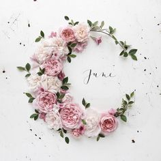 A little late but.HELLO JUNE Not only is it getting closer to summer but its my Birthday month Neuer Monat, Julia Smith, Hello June, Month Flowers, Baby Hair Clips, Handmade Headbands, Birthday Month, Blush Roses, Planner