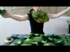 I love Jenny Hill!  How to make 3D texture with felt - YouTube