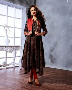 64029c247f5 31 Best Designer Salwar Suits July 2018 Collection by KhojKala ...