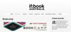 I'm heading to If:Book Australia's Bookcamp in a fortnight's time (and yes, I realise that sounds like the publishing industry equivalent of 'band camp'. It's not, honest. It's far less salacious and potentially happily even more nerdy). Boomerang Books, Books Australia, Band Camp, Sounds Like, Continue Reading, Nerdy, Blog