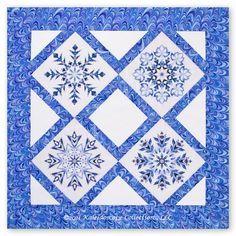 Quilt Block Patterns, Pattern Blocks, Quilt Blocks, Quilting Projects, Quilting Designs, Aplique Quilts, Snowflake Quilt, Hawaiian Quilts, Winter Quilts