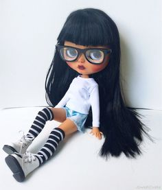 OOAK Blythe Maya Custom Blythe Doll by SweetCrate by SweetCrate