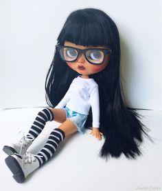 OOAK Blythe Maya Custom Blythe Doll by SweetCrate by SweetCrate