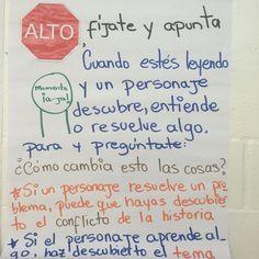 Momento a-ja en español.