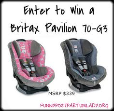 Enter to Win a Britax Pavilion 70-G3 Carseat
