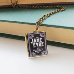 We have a beautiful collection of gold and silver necklaces that suit all occasions, each piece is displayed on our unique and personal quote cards. Jane Eyre Book, Arrow Necklace, Pendant Necklace, Silver Necklaces, Book Lovers, Gold, Jewelry, Jewlery, Jewerly