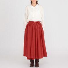 IDEE SHOP Online POOL いろいろの服 巻きギャザーエプロン: ファッション・ルームシューズデザイン家具 インテリア雑貨: