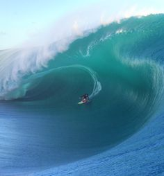 2016 Big Wave Awards Pure Scot Barrel of the Year Nominee - Keala Kennelly at Teahupo'o Photo | Tim McKenna
