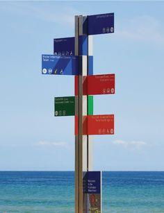 Frankston Waterfront Signage | Designer: Heine Jones