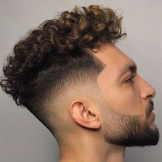 Curly Hair Fade Best Curly Taper Fade Haircuts For Men 2020 Guide Curly Hair Fade Long Curly Hair Men Taper Fade Haircut Fade Types Of Fade Haircuts 2020 Update Curly Taper Fade, Thick Curly Hair, Curly Hair Cuts, Curly Hair Styles, Straight Hair, Low Fade Curly Hair, Fade Haircut Curly Hair, Mens Hairstyles Fade, Permed Hairstyles