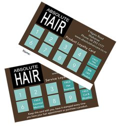 Our loyalty cards for our wonderful clients to enjoy http://www.absolutehaircare.co.nz/salon/rewards-valued-customers/
