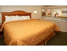 $115 for a One-Night Stay with a Romance Package at Comfort Inn & Suites in Ann Arbor (Up to $249.99 Value)