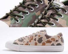 Converse Chuck Taylor Skate OX Duck Camo #wearsneakers