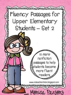 SALE! Only $1 from January 1-4. Fluency passages for upper elementary students - 10 nonfiction passages that students love! #dollardeals15
