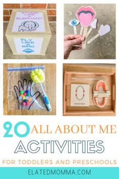 20 All About Me Activities For Toddlers And Preschoolers