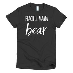 Shop Peaceful is now open!!Peaceful Mama Bear!