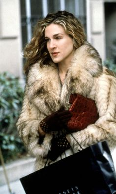 Carrie Bradshaw Wearing THAT Fur Coat, Season 2