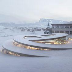 Bjarke-Ingels-unveils-spiralling-museum-for-Swiss-watchmaker_