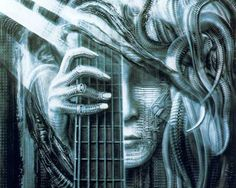 hr giger art | HR Giger, visit one of his official websites: HRGiger.com , Giger ...