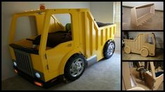 homemade truck bed for boys - Google Search